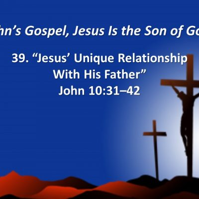 relationship between jesus and his father