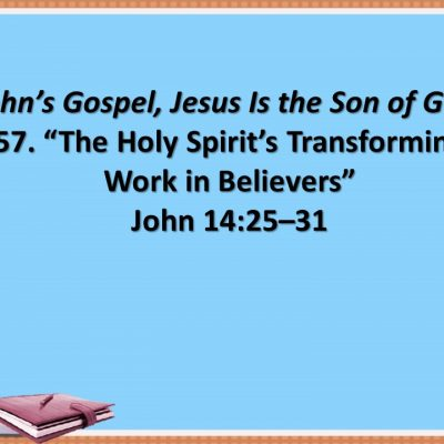 Jesus' message/John's purpose in the Samaritan Woman story (John 4:1-42)