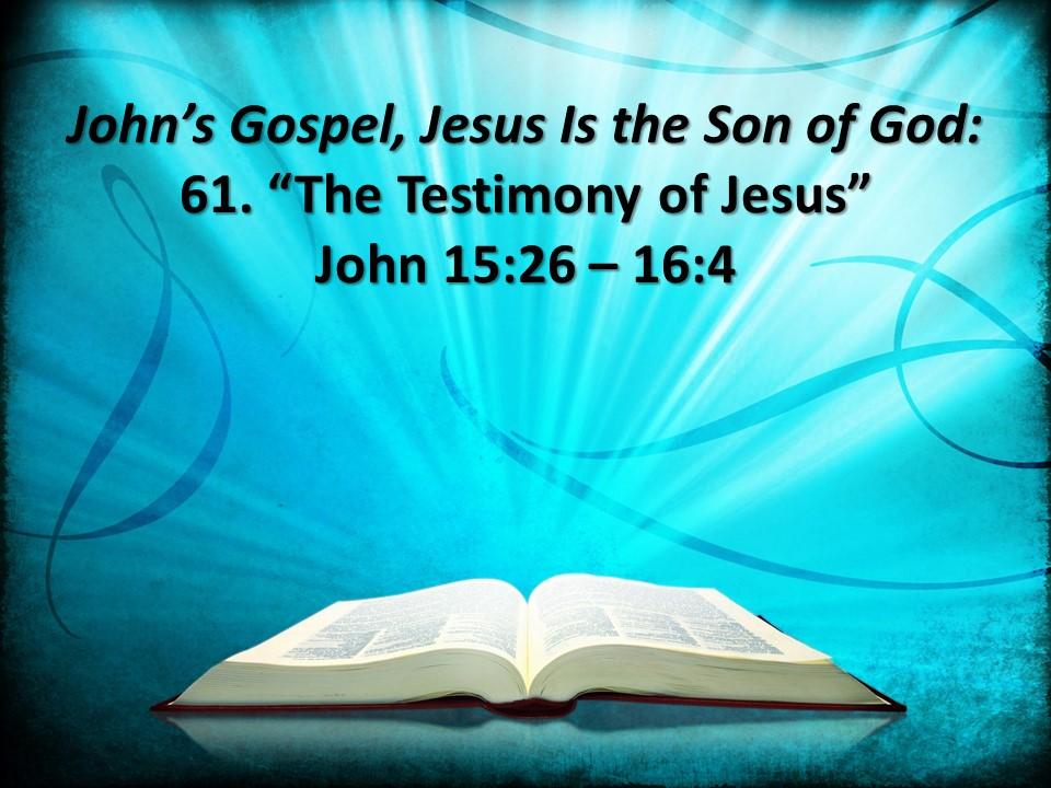 gospel of john bible study for youth pdf